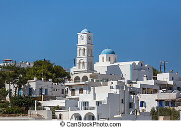 Architecture of Milos island, Greece.