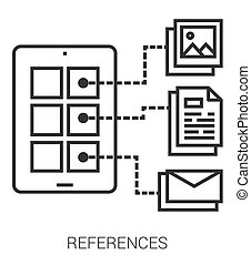 References line infographic - References infographic...