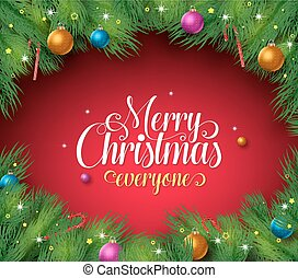 Merry christmas text backgground - Merry christmas text in a...