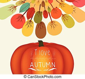 Thanksgiving. Autumn background