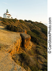 Old Point Loma Lighthouse Pacific Coast Light Station - A...
