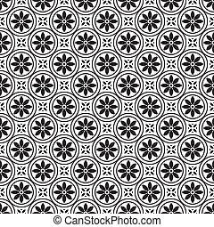 Vector Daisy Pattern