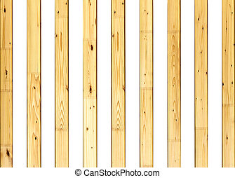 wooden slats on a white background - striped background from...