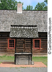 Wishing Well - Old wishing well or water well. Thunder Bay,...