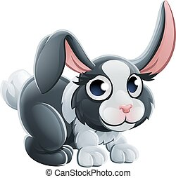 Cartoon Rabbit Animal Character