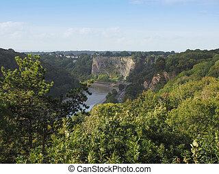 River Avon Gorge in Bristol - Avon Gorge of River Avon in...