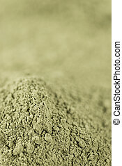 Stevia Powder (background) - Stevia Powder close-up shot for...