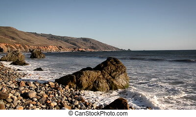 Central California Coast View - View of the California Coast...