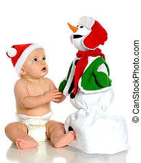 boneco neve, admiração