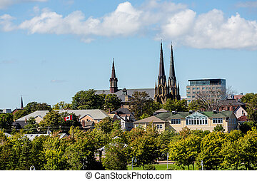 Canadian Church Steeples - Old Church steeples in...