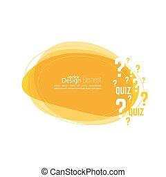 Question mark icon. Help symbol. Quiz vector. Banner...