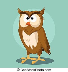 owl vector illustration design