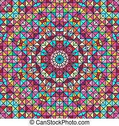 Abstract Colorful Digital Decorative Flower Backdrop