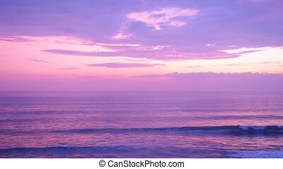 sea view purple tone background - sea view purple tone...
