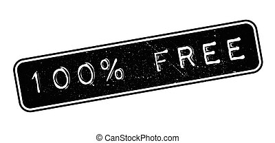 100 percent free rubber stamp