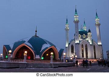 Kul Sharif (Qolsherif, Kol Sharif, Qol Sharif) Mosque in...
