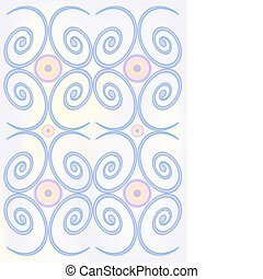 Spiral vector background.