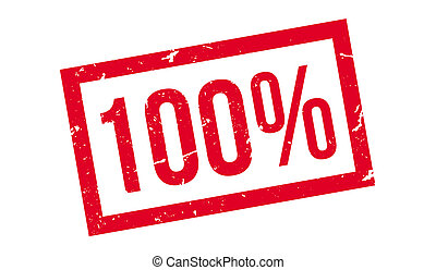 100 percent rubber stamp on white. Print, impress,...