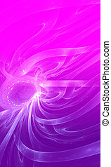 Purple background. - Abstract purple waves and random...