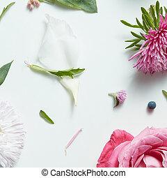 拼貼藝術, 相片, 植物, 設計