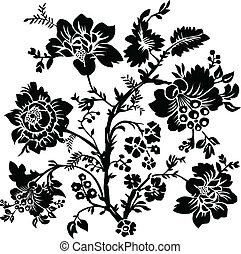 Vector Rose Illustration - Vector rose illustration. Easy to...