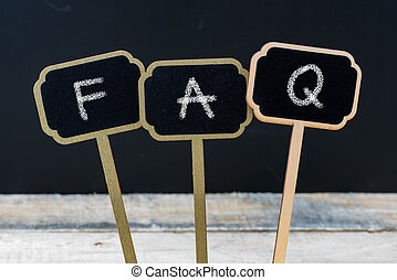 Business message FAQ as Frequently Asked Questions written...