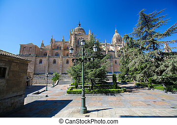 New Cathedral of Salamanca, Spain - New Cathedral or...