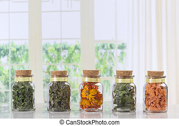 dried herbs, spices and andvegetables - dried herbs, spices...