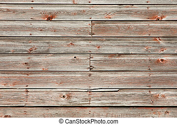 Rustic Weathered Wood Siding Background - Weathered barn...