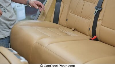 Car detailing series : Cleaning car seat