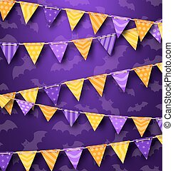 Colorful Hanging Bunting for Holiday Party, Cute Decoration...