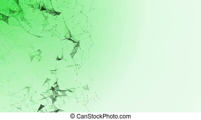 abstract geometry plexus background connected particles