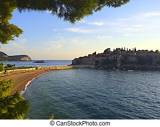 "The well-known resort in Montenegro - ""Saint Stephen"" -..."