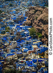 Jodhpur – Blue City - Jodhpur city in India called also as...