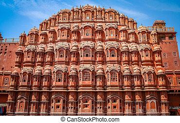 Hawa Mahal - The Palace of Winds - Hawa Mahal, The Palace of...