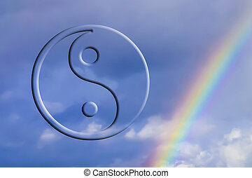 The symbol of Yin - Yang