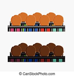 People in Courtroom Vector Illustration