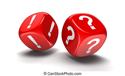 Dices with Punctuation Marks - Dices with Question and...