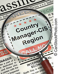 Now Hiring Country Manager-CIS Region 3D - Loupe Over...