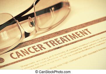 Cancer Treatment. Medicine. 3D Illustration.
