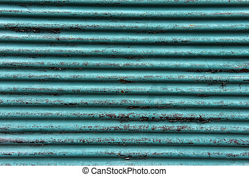 Grunge blue, sheet metal background