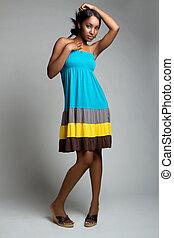 African American Woman - Beautiful african american woman