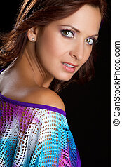 Beautiful Latin Woman - Beautiful latin woman headshot...