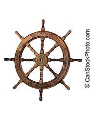 vela, barco, Timón, blanco, Plano de fondo