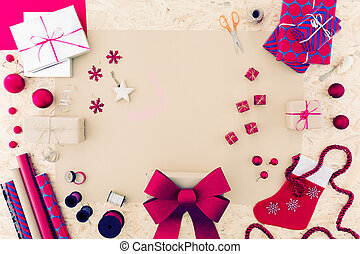 Pink christmas accessories - Pink christmas decorations and...