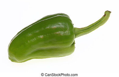 green Jalapeno, chili pepper, Capsicum annuum