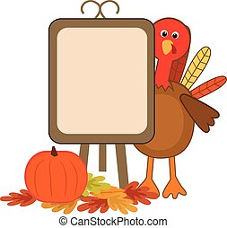 Turkey Blank Menu