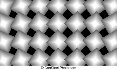 Shapes - Motion background with moving geometric shapes...