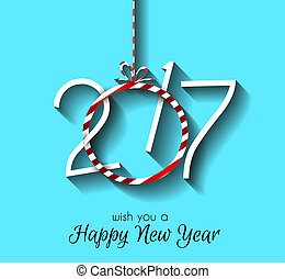 Happy New Year Background for your Seasonal Flyers and...