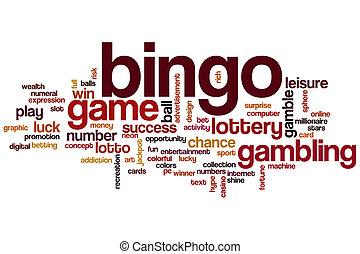Bingo word cloud